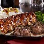 Baby Back Ribs and Filet Medallions
