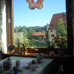 view from the breakfast room