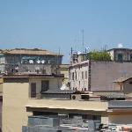 view from our balcony (Vatican)