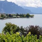  view of Lake Geneva from our terrace