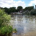 N Platte River from Parking Lot