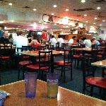 All restaurants full nearby-ate at Super China Buffet.  Weird but filling.