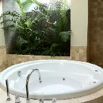 jacuzi in master bed room