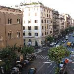 View N1 from the window of our room on Via Cola Di Rienzo