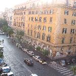  View N2 from the window of our room on Via Cola Di Rienzo