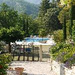  view on the pool