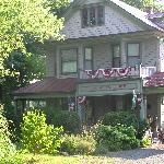 Front of the B & B