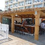 Tiki Bar at the Ocean Club