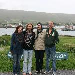  On Valencia Island at the Skellig Michael Visitors Centre