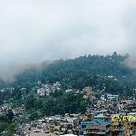  Kalimpong from hotel terrace