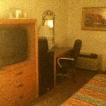 Tv and desk area - Riverpark Inn, Tucson, AZ