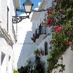 Typical view from Frigiliana's old town