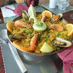 our specially requested paella