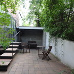  The back of terrace