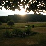  Sunset in Backyard of A Slice of home