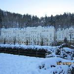 Karlovy Vary in winter