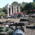 Nearby archeological site