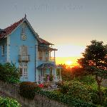 The Villa Mira Longa - Sunset .