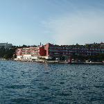 Hotel Histrion from the sea