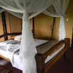 Our room at Kyambura Game Lodge