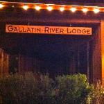 Gallatin River Lodge resmi