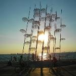  Sunset in Thessaloniki