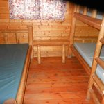  inside of cabin photo