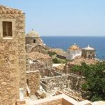 Old town of monemvasia