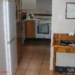  Kitchen with One Bedroom to the Right