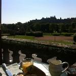 Breakfast on terrace