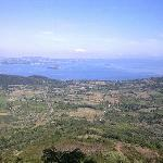View of Lake Bolsena from Montefiascone
