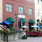 """Luna Rossa's lovely patios w/musical """"Trigger"""""""