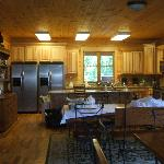  Double kitchen in the lodge