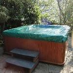  Le jacuzzi vetuste et sale