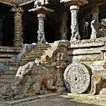 Darasuram - Carved staircase