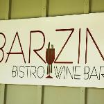 Bar Zin is a great bistro and wine bar!