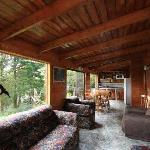 Living room of Family Cabins