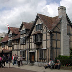 Shakespeare's home in Stratford-Upon-Avon