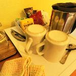 coffee & tea for room