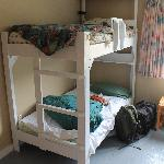  One bedroom (we created the messy beds!)