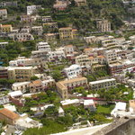 Cliffside dwellings of Positano