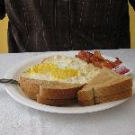 example of La Maison breakfast from menu