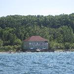  portage lake boathouse