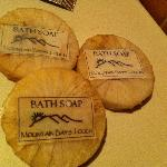 this were the bath soap they prepared for guest