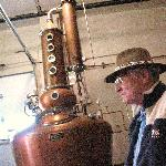 the 3 story custom made copper still