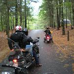 Bikers' camping weekend in Nickerson