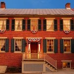 Home of George & Hettie Shriver was built in 1860, just months before the Civil War began.