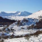  View of Snowdon from the hill behind Cobdens