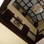 Front Hall looking up