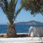 View from a cafe in Gulluk
